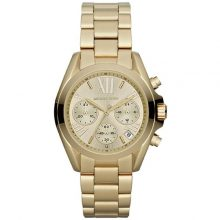 Michael Kors Bradshaw Women's Silver Dial Stainless Steel Chronograph Watch [MK5798]